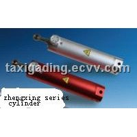single action adjustable hydraulic cylinder