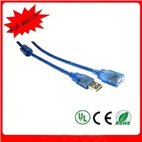 usb male to female extension cable cord