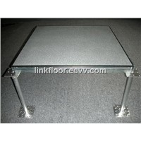 anti-static steel cement raised floor panels
