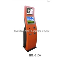Dual Screen Payment Kiosk with Keyboard