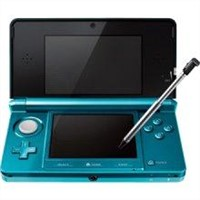 3DS Handheld game console - Aqua blue
