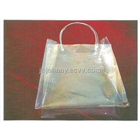 PVC film for shopping bags