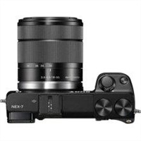 a 7K Digital camera - mirrorless system - 24.3 Megapixel - 3 x optical zoom   - Black