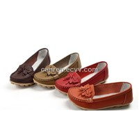 Casual Women's Leather Shoes