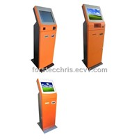 Single Screen Payment Kiosk with Bill Acceptor