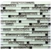 Crystal Glass Mosaic Wall TileGD0002