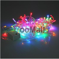 9.5M 110V 100 LEDs String Fairy Light RGB Color