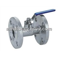1PC Stainless Steel Flange Connection Ball Valve