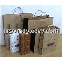 2012 recycable kraft paper bag