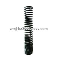 Auto damping spring