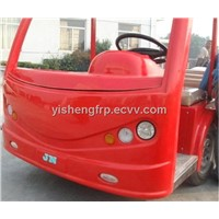 Commercial frp vehicle parts by hand lay-up process