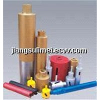 Diamond Core Bits&Brazed diamond core bit|Diamond Core Bits Kit|Hardware tools