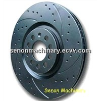 Drilled and Slotted Brake Disc