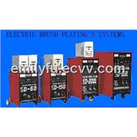 Electro brush plating equipment