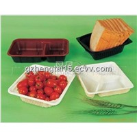 Food  plastic blister tray