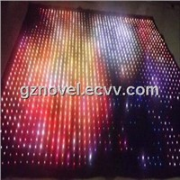 LED Star Curtain Backdrops / Holiday Decoration LED Curtain