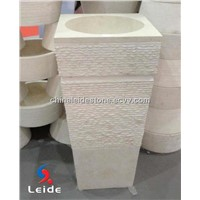 Marble Freestanding Wash Basin (LD-F079)