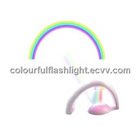 RAINBOW LED PROJECTOR LAMP NIGHT LIGHT ROOM DECORATION SHIPPING FREE