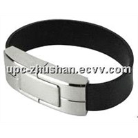 Real Leather 16 GB 32GB Wristband USB Flash Memory