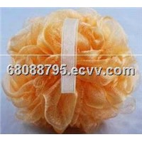 Skin-friendly shower puff / body puff / bath puff / mesh puff