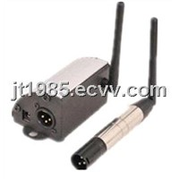Wireless DMX512 transmitter and receiver
