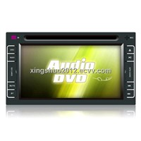 XS-6102:6.1' bluetooth, built-in GPS, Touch Screen, RDS, 2 din car dvd player