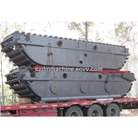 ZD200 Undecarriage Pontoon Fit to Hitachi Upperstructure Excavator