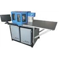 0.05mm Precision Galvanized Sheet Automatic CNC Slotting and Bending Machine 600KG PIT