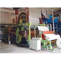 1092mm five cylinder &three wire paper machine