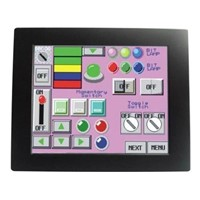 "12""small wall mount touch screen LCD display QM5-125"