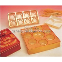 10 cavities package moon cake tray