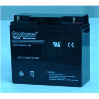 12V 22AH SEALED LEAD ACID BATTERY, VALVE REGULATED LEAD ACID BATTERY, UPS BATTERY, SOLAR BATTERY ,