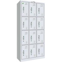 12-door Steel Athletic Locker