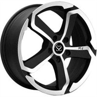 13, 14, 15, 17 and 18 inch custom styling aluminum alloy wheel rim matt black machine face