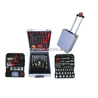 186 pcs tool set in aluminium case