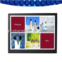 19Inch Touch-Screen LCD Advertising Player with Lock Key