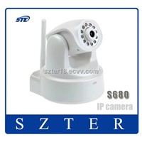 1MP CMOS sensor 720P HD pan/tilt dome wireless ip internet camera