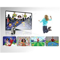 2012 Grand Listed Body sense & Camera-Interactive TV Game Console for Family