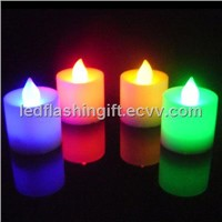 2012 popular colorful led candle waterproof and submersible