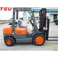 2-4t gasoline and LPG forklift