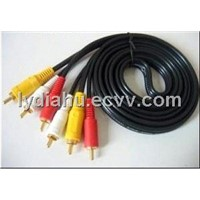 3RCA to 3RCA cable