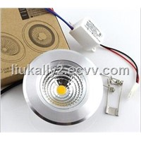 "3"" 7W LED ceiling light"