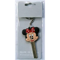 3d disney characters house key blanks