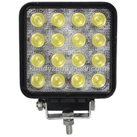 48w ambulance and any vehicle led work lamp GZB-1748