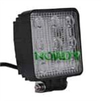 "4"" 27W led worklight 10-30V DC offroad lamp for 4WD.Ultra bright led off road light"