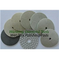 "4"" Wet/Dry Polishing Pads for Granite"