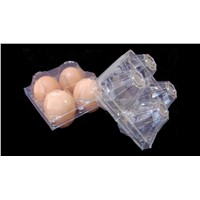 4 cavities eggs tray