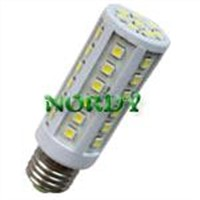8.8W 5050SMD 360 degree  high power brightness plastic E27 B22 E14 led corn light