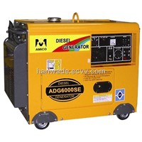 5kw power soundproof diesel generator