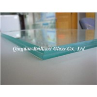 5mm Polished Float Glass(grinding,drilling,bevel)